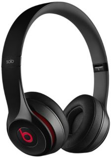 Beats by Dr. Dre Solo2 Cuffie On-Ear con Control Talk, Nero